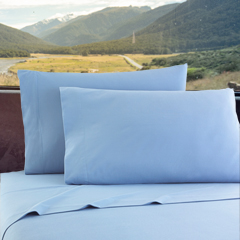 Micro Flannel RV Bedding - Wedgwood