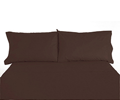 Micro Fiber RV Bedding - Chocolate