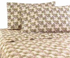 Micro Flannel RV Bedding - Pinecone