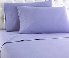 Micro Flannel Sheet Set - Amethyst