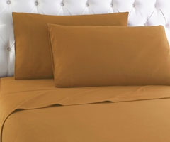 Micro Flannel Sheet Set - Butterscotch