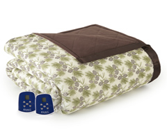 Micro Flannel Electric Heated Blanket - Pinecone