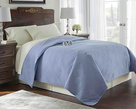 Solid Color Sheets. Micro Flannel® Electric Blankets ...