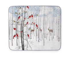 Hi Pile 60x80 Throw - Forest Friends