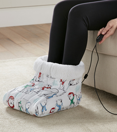 MICRO FLANNEL FOOT WARMER POLAR BEARS
