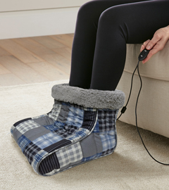 MICRO FLANNEL FOOT WARMER SMOKEY MT