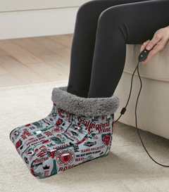 MICRO FLANNEL FOOT WARMER WINE COUNTRY