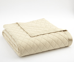 Chino Micro Flannel Quilted Blanket