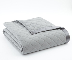 Greystone Micro Flannel Quilted Blanket