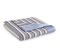 Micro Flannel Year-Round Blanket - Awning Stripe