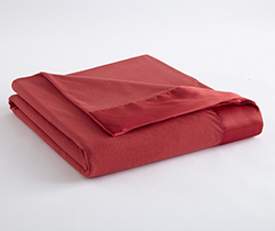 Micro Flannel Year-Round Blanket - Barn Red