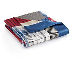 Micro Flannel Year-Round Blanket - Berry Patch Plaid