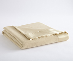 Micro Flannel Year-Round Blanket - Chino