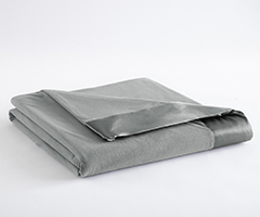 Micro Flannel Year-Round Blanket - Greystone