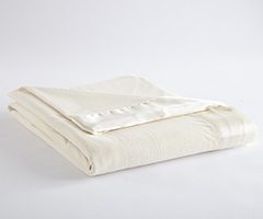 Micro Flannel Year-Round Blanket - Ivory