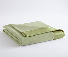 Micro Flannel Year-Round Blanket - Meadow