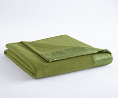 Micro Flannel Year-Round Blanket - Olive