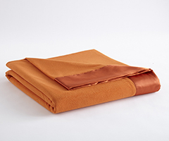 Micro Flannel Year-Round Blanket - Terracotta