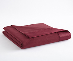 Micro Flannel Year-Round Blanket - Wine