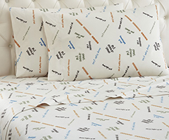 Micro Flannel Printed Sheet Sets - Sleep Y'all