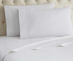Micro Flannel Sheet Set - White