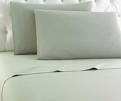 Micro Flannel Sheet Set - Meadow