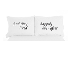 MFNL PILLOW CASE - HAPPILY EVER AFTER