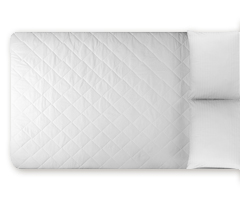 MFBR Mattress Pad - Bunk White
