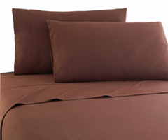 Micro Flannel RV Bedding - Chocolate