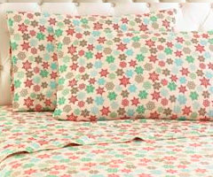 Micro Flannel Printed Sheet Sets - Snowflake