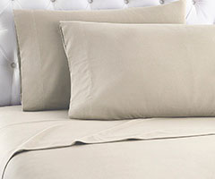 Micro Flannel Sheet Set - Taupe