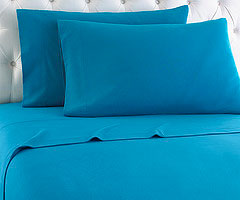 Micro Flannel Sheet Set - Teal