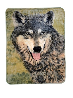HIGH PILE 60X80 BROWN WOLF