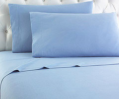 Micro Flannel Sheet Set - Wedgwood